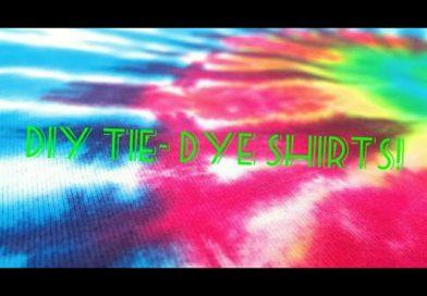 Diy tiedye shirt!👕😃